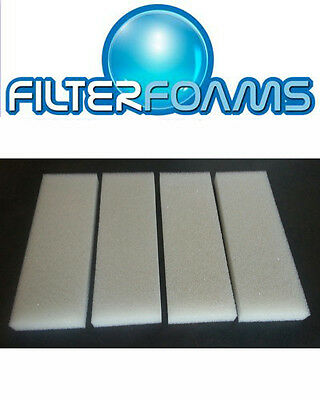 2, 4, 8 x COMPATIBLE FLUVAL U4 FOAM FILTER SPONGE PADS REPLACEMENTS MEDIA