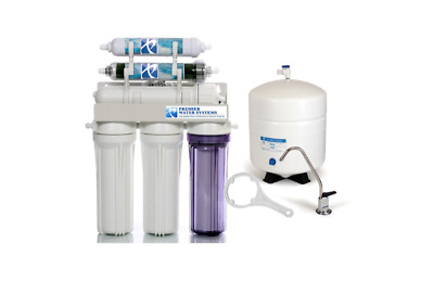 Fish & Aquariums Nice Premier Aquarium Reverse Osmosis Water Filter System 6 Stage Booster Pump 100g
