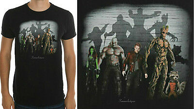"""""""Lineup Of The Guardians"""" Adult Unisex T-Shirt Marvel Guardians Of The Galaxy"""