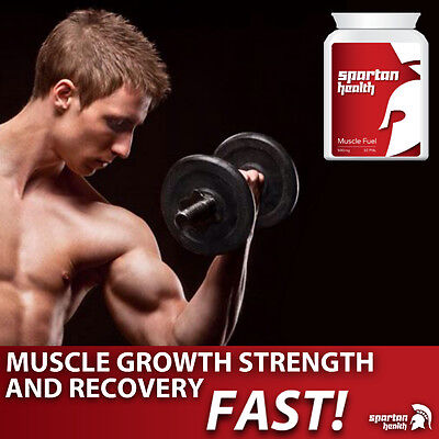Spartan Health Muscle Fuel Increase Strength Powerful Muscular Fitness