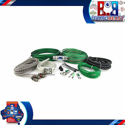 Hyper Connections Kit-2 8 Gauge 2-Channel Amplifier Wiring Installation Kit Amp