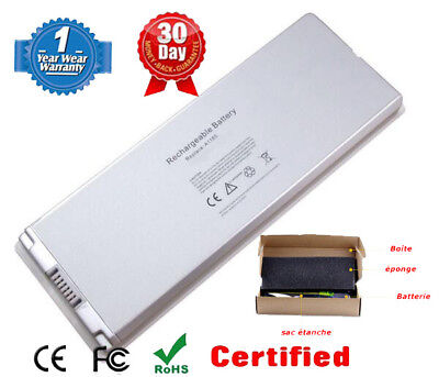 "Neuf batterie pour Apple MacBook 13"" inch Batterie A1181 A1185 Blanc"