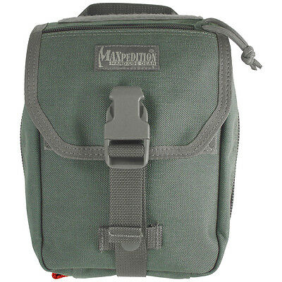 Maxpedition Fight Medical Hunting Pouch First Aid Hiking Webbing Pocket Foliage