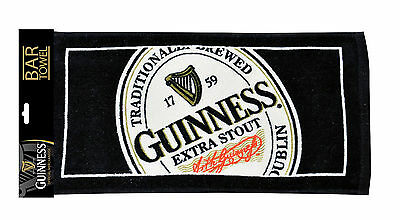 Guinness English Label Bar Towel