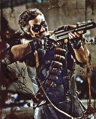AUTOGRAPHE SUR PHOTO 20 x 25 de Jeffrey Dean MORGAN (signed in person)