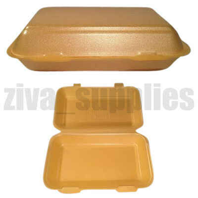 Takeaway Food Containers and Lids Disposable Boxes for Lunch Salad BBQ Kids Meal
