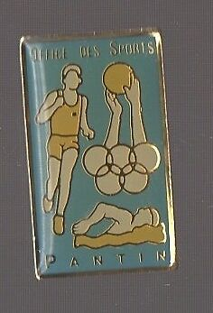 Pin's OSP / Office des Sports de Pantin (93) version bleue