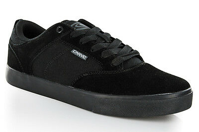 Carve Mens Og Black Suede / Canvas Skate Shoes