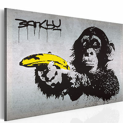 Canvas Wall Art Print - Image - Picture - Photo - Banksy 030115-40