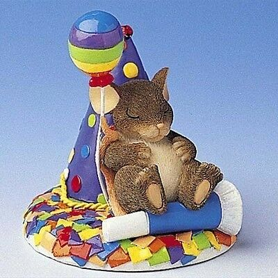 Fitz & FLoyd Charming Tails TAKE TIME TO DREAM NEW! 89/131 Hat Balloon