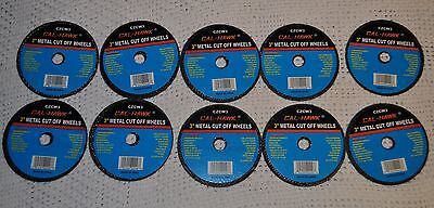 """New 10 Piece 3"""" inch metal cut off wheel disc for Die Grinder 1/32"""" thick three"""