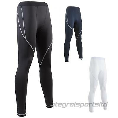 i-sports Base Layer Tights Mens Womens Compression For Running Performance Fit
