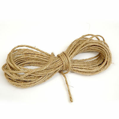 Jute Twine / String - Strong Thick 5 ply - 10m Cut length