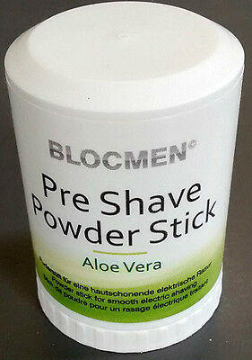 BLOCMEN ALOE VERA PRE-SHAVE POWDER STICK x 1 (60g) - REPLACED BY REMINGTON