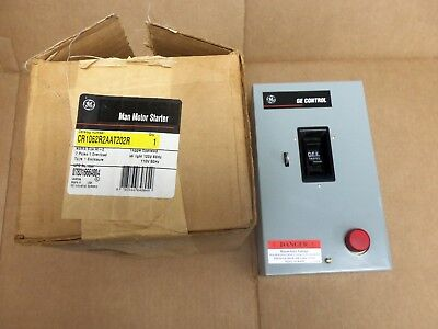 New Ge Cr1062S2Aat202R Manual Motor Starter Switch Size M-1 2 Pole 120V