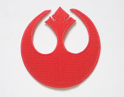 """STAR WARS Rebel Alliance Squadron embroidered Badge Patch 7.5x7.5 cm 3"""""""