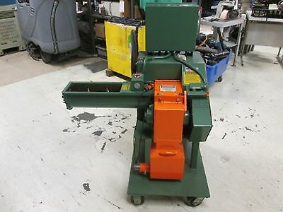 Granutec 66MM 2Hp 460Volt 3Ph Auger Granulator Great Condition