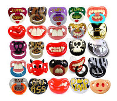 **NEW** BILLY BOB Pacifier Soother Dummy   **30 Designs**