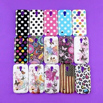 Lot Back Skin Case Cover Rubberized Protector for Samsung Galaxy S4 Mini i9190