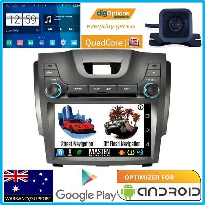 /GPS Navigation For Holden Colorado RG LT LTZ Bluetooth Player Radio Stereo Cam