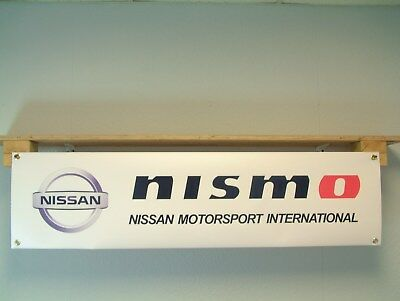 Nissan Nismo Motorsport pvc workshop banner, GT-R, Juke, 350z 370z ..etc
