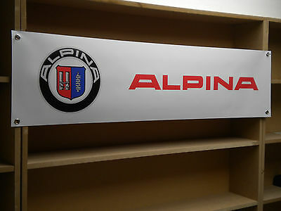 BMW Alpina workshop  banners, D3, B3, XD3, B3GT3, D5, B5, B6, B7, Bi Turbo, etc