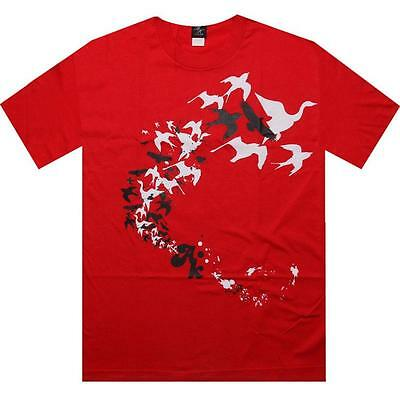 $40 Akomplice Freedom Tee (red / white)