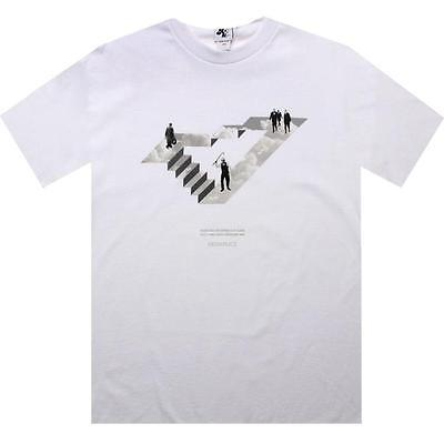 $35  Akomplice Money Equals Happiness Tee (white)