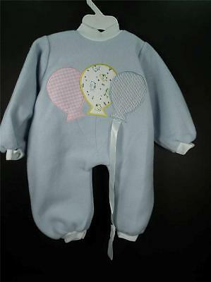 "TERRY BRAND DOLL OUTFIT CLOTHES FOR LEE MIDDLETON 20-22"" DOLLS FLEECE ROMPER NEW"