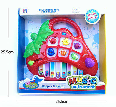 Brand New strawberry Electronic Piano Music tunes Toy