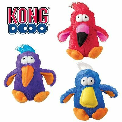 Kong Large Dog Puppy Dodo Bird Plush Soft Squeaky Toy Fun