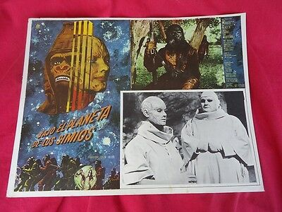 Vintage Original Spanish Beneath The Planet Of The Apes Poster 1970