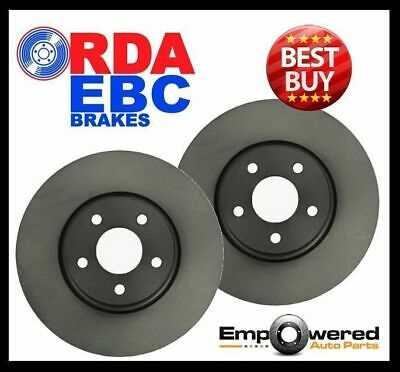 FRONT DISC BRAKE ROTORS for BMW E87 130i 3.0L 195Kw 11/2005-10/2010 RDA8046 PAIR