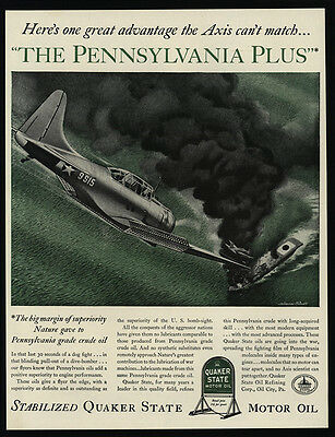 1942 WWII U.S. Navy Dive Bomber Bomb Enemy Ship MELBOURNE BRINDLE Art VINTAGE AD