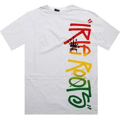 $24 Stussy Roots Tee white