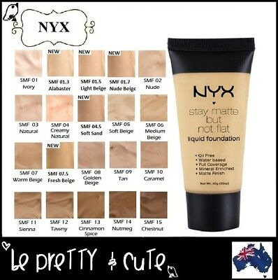 NYX Stay Matte But Not Flat Liquid Foundation SMF Full Coverage 35ml