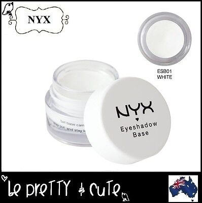 NYX Eye Shadow Base Primer ESB01 WHITE eyeshadow makeup last longer AUSTRALIA