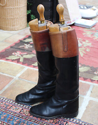 Collection Three Pairs of Vintage Riding/Hunting Boots