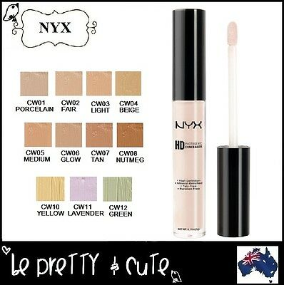 NYX HD PHOTOGENIC CONCEALER WAND CW (11 Shades) Cover Dark Circle Blemish