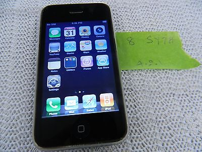 Apple iPhone 3G - 8GB - Black (AT&T) Smartphone (MB702LL/A)