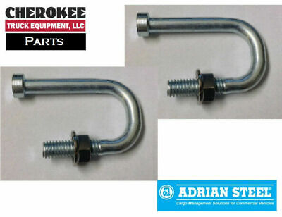 Adrian Steel 29752-0, J-Bolt for Single and Double Lid Crossboxes (Set of 2)