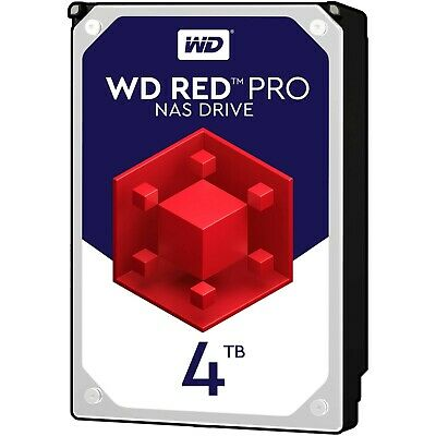 "WD Red Pro 4TB SATA-6Gb 7200rpm 128Mb 3.5"" NAS HDD WD4003FFBX 5 YRS WTY"