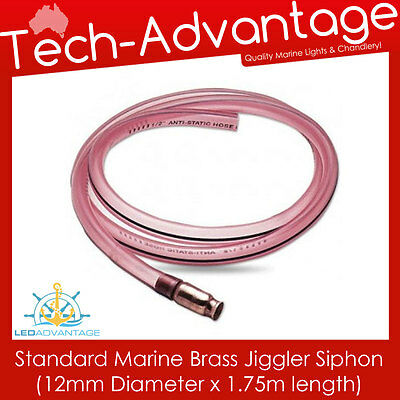 Marine Fuel/water Line Jiggler Siphon Transfer 1.75M X 12Mm Anti-Static Hose