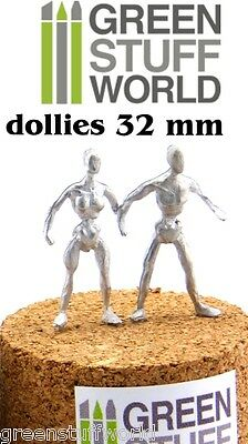 Armazon Esculpir - 32 mm - Metal Flexible Esqueleto Dollie - Warhammer