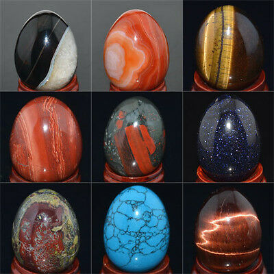Wholesale Lot Mix Natural Gemstone Sphere Crystal EGG