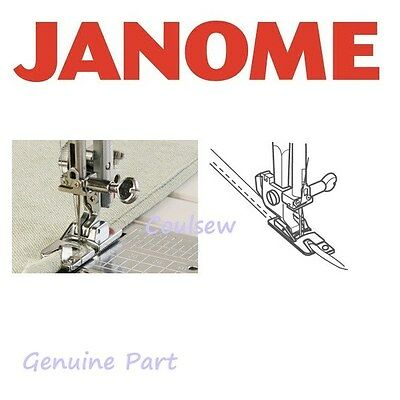 JANOME Sewing HEMMER ROLLED HEM FOOT Cat A 200128001/202044008 Genuine Part