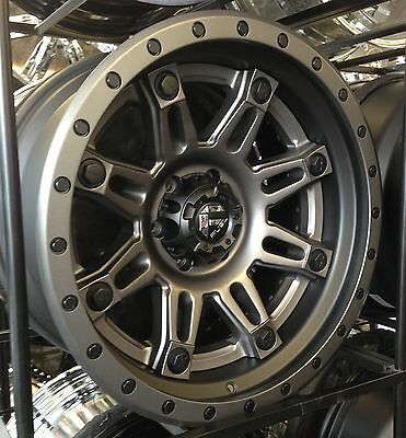 "20"" Fuel Offroad Hostage 20x10 Black Anthracite Wheels Rims 6x135 Ford F150"