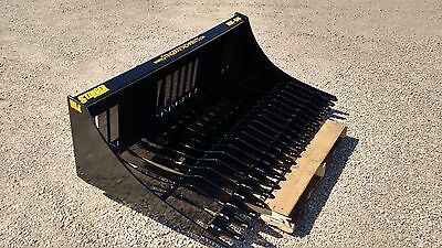 """78"""" Skid Steer Rock Bucket, Screening Sifting, High Quality, FREE Shipping!!"""