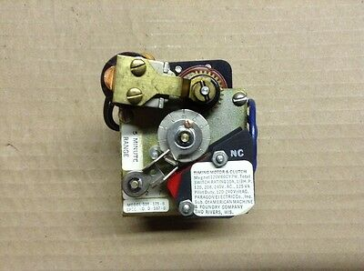 AMF Paragon 536-125-0 5 Minute Off Delay Automatic Reset Timer M4