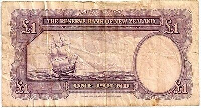 NEW ZEALAND  1940 ISSUE ( R.N. FLEMING)  1 POUND   in a protective sleeve
